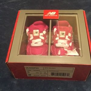 Brand new in box  New Balance Pink suede sneakers